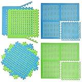 eyepower 1cm DICKE Poolmatte Bodenmatte 1,59qm Bodenfolie Bodenfliese Unterlage für Pool Robustes...