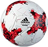 adidas Erwachsene Fifa Confederations Cup Fußball, Top:White/Red/Power Red/Clear Grey Bottom:Black,...