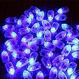 Kuulee 10 Mini LED Glühbirne wasserdichtes Blinkendes Licht für Ballon und Laterne, Hochzeitsfest...