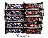 MARS & SNICKERS PROTEIN RIEGEL MIX BOX (10 Stück)