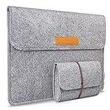 Inateck 13,3 Zoll Macbook Air/ Pro Retina 12,9 Zoll iPad Pro Filz Sleeve Hülle Ultrabook Laptop...