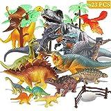 Estela Joylink Dinosaur Set,17 PCS Realistische Figur Modell, Spielzeug Kindergeburtstag Party...