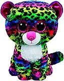 Carletto Ty 37074 - Dotty, Leopard mit Glitzeraugen, Glubschis, Beanie Boos, 24 cm, bunt