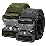 AIZESI Tactical Gürtel Military Nylon Gürtel Belt mit Schnellverschluss,Militär Nylon Gurtband...
