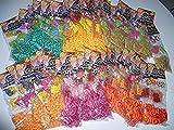 Loom Mega Set 9600 Loom Ringe + 2800 Perlen + 192 Anhänger + Verschlüsse (Preis gilt für alle 48...