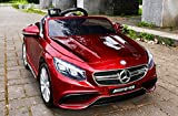 Mercedes-Benz S63 AMG Cabriolet Ride-On 12V Elektro Kinderauto Kinderfahrzeug Kinder Elektroauto...