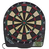 Best Sporting CHESTER elektronische Dartscheibe, Dardboard mit LCD-Anzeige, 6 Dartpfeilen und...
