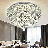 N3 Lighting Lüster Kristall Deckenleuchte - Modern Design Kronleuchter - Anhänger...