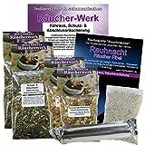Kehraus- Schutz- & Abschluss Räucher-Sortiment 8-tlg #81185 | 20 Kräuter Räuchermischung +...