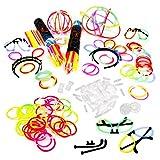 200 Knicklichter, 200 Verbinder, 5 Leuchtbrillen, 5 Haarreifen, 5 Kreisverbinder, 5 Flexverbinder, 4...