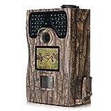 Lixada 1080P Jagdkamera/Wildlife Scouting Jagd Spiel Kamera, IR LED-Nachtsicht/IP55 Wasserdicht/0.2s...