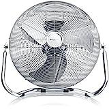 Brandson Windmaschine / Retro-Stil Ventilator in Chrom   Standventilator 30cm   Tischventilator /...