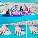 Sand-Frei Matte, Sand Proof frei Strand Matte Teppich Picknick Decke--Sand, Schmutz & Staub...