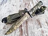 U.S. Army M-9 Typ-3 - Multipurpose M9 Militär Bajonett mit extrem Sägerücken - taktisches...