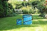 1PLUS Pop Up Sack, Spielzeugsack, Gartensack, Wäschesack 85 und 15 Liter, in verschiedenen Farben...