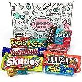 Kleiner American Candy Geschenkkorb | Retro Süßigkeiten und Schokolade Geschenkkorb | Auswahl...
