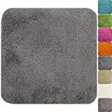 proheim Badematte 50 x 50 cm rutschfester WC-Vorleger Premium Badteppich 1200 g/m² weich &...