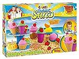 Craze 54179 - Magic Sand Icecream und Bakery Set, circa 700 g