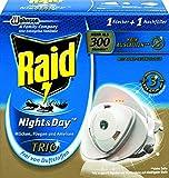Raid Insekten-Stecker, Zum Schutz vor fliegenden und kriechenden Insekten bei Tag und Nacht, Bis zu...