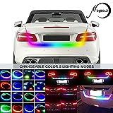 MIHAZ Flexible LED LKW Streifen Licht Streamer 12V Auto Auto Tailgate Licht Bar Led Rückleuchten...