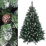 RS Trade® 180 cm ca. 1095 Spitzen, Exklusiver dekorierter künstlicher Weihnachtsbaum mit...