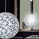 MIA Light Papier Kugel Hänge Leuchte Ø400mm/Asia/Schwarz/Weiß/Karton/Pendel Lampe Japan Lampion...