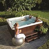ORIGINAL Jacuzzi ® Spa J235 beheizter Whirlpool inkl. Wärmeabdeckung Aktionsmodell mit 6 Sitzen,...