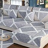 DSAQAO Einfach sofa protector, Universal vier jahreszeiten Anti-rutsch Sofa handtuch Volle deckung,...