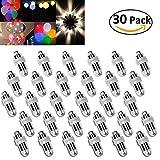 Vanble 30 LED-Ballons Lichter wasserdicht Beleuchtung für Papierlaternen Ballons Blumendekoration,...