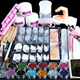 Modus Galerie Acryl Nagelset Nail Art Set professionelle Nageldesign Acrylpulver Strasssteine...