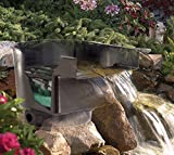Teich Wasserfall 43cm breit incl.Filtersystem Bachlauf Teichfilter