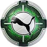 PUMA Evopower Vigor 3.3 Tournament 4 (Fifa Quality) Fußball, Puma White-Green Gecko-Puma Black, 4