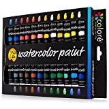Colore Aquarellfarben – Qualitativ hochwertiges Premium-Mal-Set für Künstler, Studenten &...