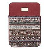 Feisman 11-12 Zoll wasserdicht Leinwand Laptop Schutzhülle Tablet Tasche für MacBook Air 11,6-Zoll...