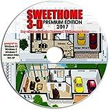 Sweet Home 3D Raumplanung - Premium Edition mit mehr als 1.000 3D-Modelle, perfekt für Haus und...