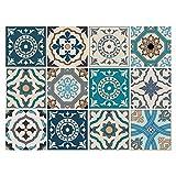 Cuadros Lifestyle Dekorative Stickerfliesen mit tollen Motiven und Ornamenten für Wände und...