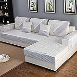 HM&DX Anti-rutsch Sofa abdeckung Für sektionaltore couch Baumwolle Polyester Gesteppter Sofa...