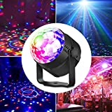 LED Discokugel, Ubegood Disco Lichteffekte Discokugel LED Party Lampe Discolicht Partylicht LED...