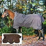 Pferde Winterdecke Horseware Rhino Wug (Regendecke) 155cm 400g Füllung Chocolate with Cream check...