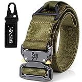 Tactical Belt Heavy Duty Gürtel einstellbar Military Style Nylon Gürtel mit Metallschnalle Molle...