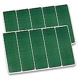 Billardtuch-Pflaster Grün (10 Stück)
