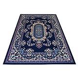WEBTAPPETI Klassisch Teppich - Orient Teppiche - Teppich Living - ROYAL Shiraz 2063-BLUE 140x210