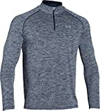 Under Armour Herren Fitness Sweatshirt UA Tech 1/4 Zip, Blau (Midnight Navy Heather), XL,...