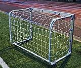Fußballtor - Minitor - Aluminium - 100% WETTERFEST - FALTBAR - 1,2 x 0,8 / 1,5 x 1,2m (1,2 x 0,8m)