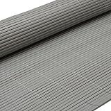PVC Sichtschutzmatte 180x300cm Grau Windschutz Sichtschutz Doppelstabmatten Gartenzaun Terrasse Zaun...
