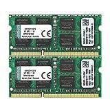 Kingston KVR16S11K2/16 Arbeitsspeicher 16GB (DDR3 Non-ECC CL11 SODIMM Kit, 204-pin 1.5V)