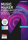 MAGIX Music Maker – 2018 Premium Edition – Die Audiosoftware mit mehr Sounds, Instrumenten und...
