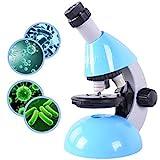 Emarth Mikroskop für Kinder und Jugendliche, Einsteiger Biologisches Mikroskop mit 40- bis zu...