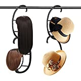 YUNSI Perückenständer, tragbar, zum Aufhängen, für alle Perücken und Hüte, zusammenklappbar,...
