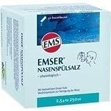 Emser Nasenspülsalz physiologisch – Nasendusche bei Erkältung, Allergie und zur Nasenpflege...